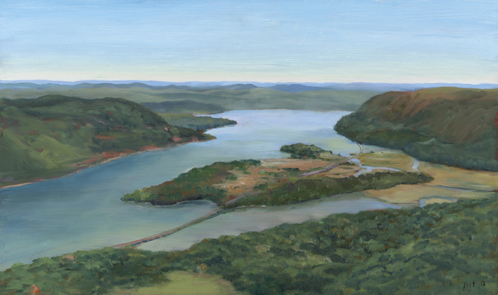 Hudson River from Bear Mountain 2013 - Tom Yost